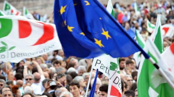 Bandiere Pd Europa