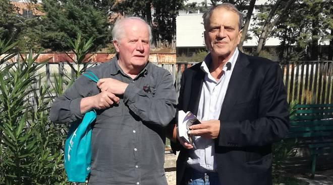 Don Basilio Gavazzeni e Angelo Festa