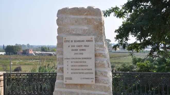 Monumento caduti Scanzano