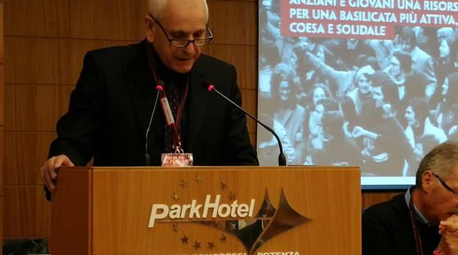 Nicola Allegretti, congresso Spi Cgil Basilicata