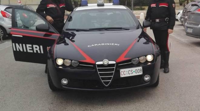 Carabinieri Matera a Borgo Venusio