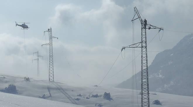 Neve cavi elettrici