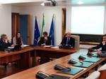 La conferenza stampa dell'assessore Cifarelli