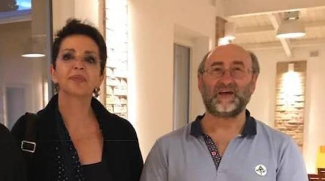 Albina Colella e Giambattista Mele