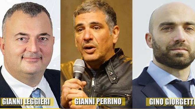 Leggieri, Perrino e Giorgetti