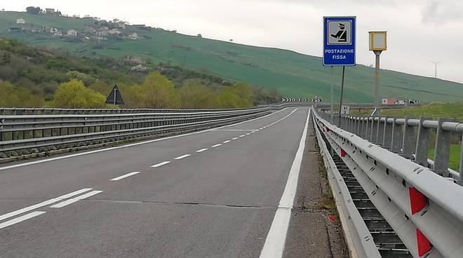 Autovelox strada Potenza-Melfi