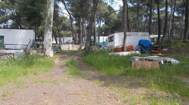 Camping sequestrato