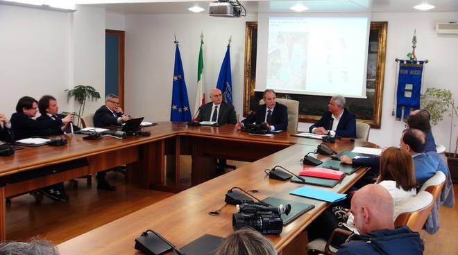 Firma dell'accordo in Regione