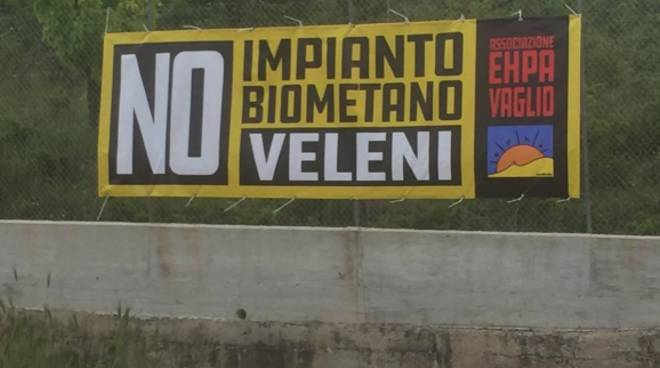 No impianto biometano, Vaglio Basilicata