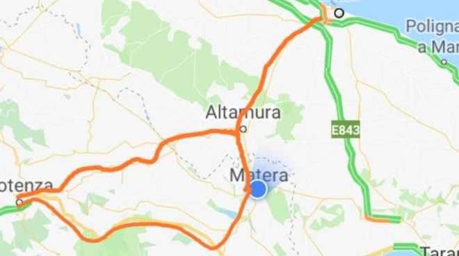 strada statale 7 appia Ferrandina-Matera