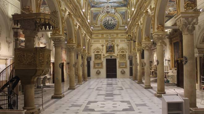 Cattedrale Matera, interno