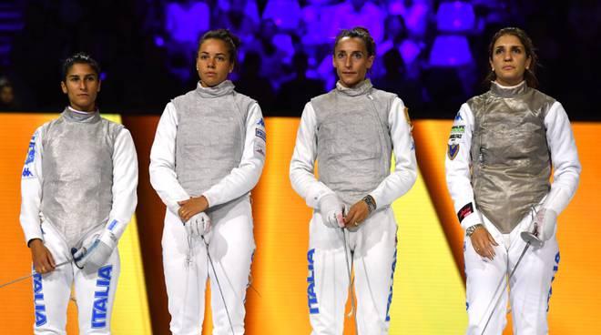 Mondiali di scherma, Francesca Palumbo