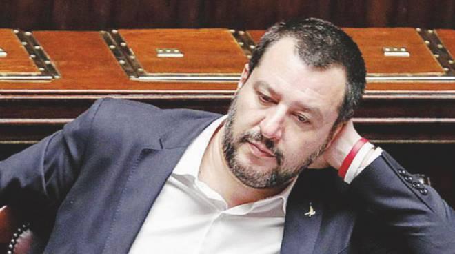 Matteo Salvini (Foto Il Fatto Quotidiano)