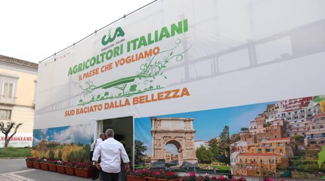 Benevento, manifestazione Cia