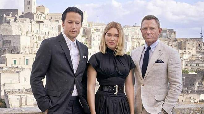 Cast James Bond a Matera