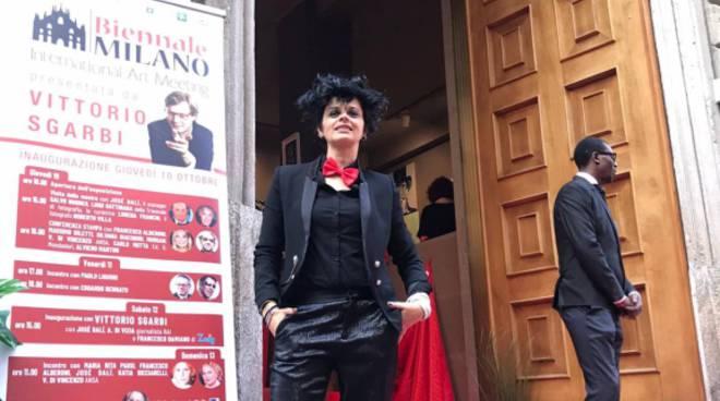 Gelsomina Perilli alla Biennale di Milano
