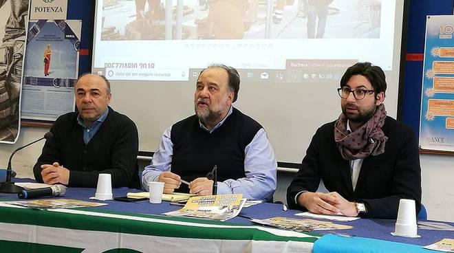 I segretari Palma, La Torre e Lombardi