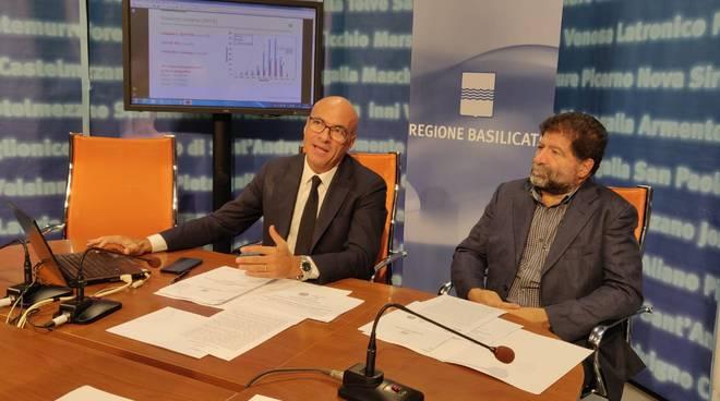 Luca Braia e Carlo Trerotola