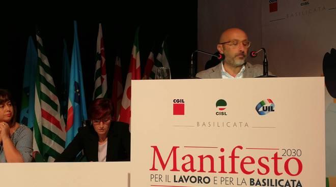 Presentazione del Manifesto per il lavoro