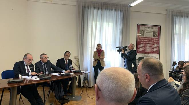 Conferenza stampa Federazione nazionale Stampa