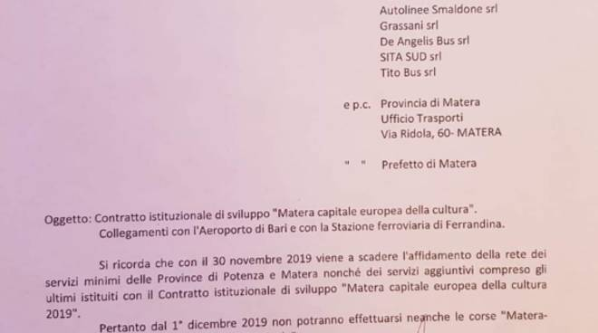 Documento Cotrab navette Matera
