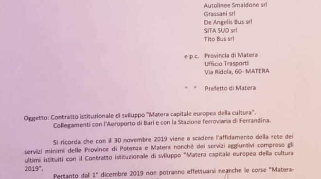Documento Cotrab navette Matera