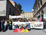 Manifestazione pro ambiente degli studenti lucani