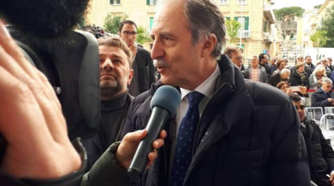 Presidente Bardi a inaugurazione stazione Fal Matera