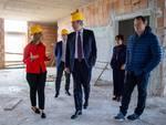 Presidente Bardi in visita al Crob di Rionero in Vulture