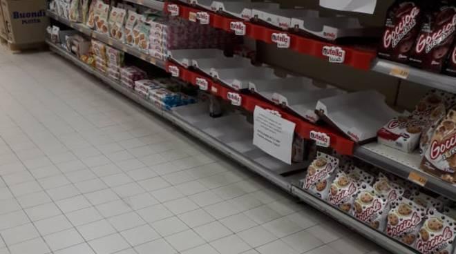 Scaffale supermercato