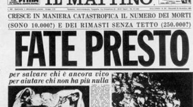 Terremoto Irpinia Basilicata