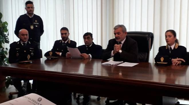 Conferenza stampa procuratore Curcio