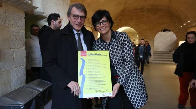 David Sassoli a Matera