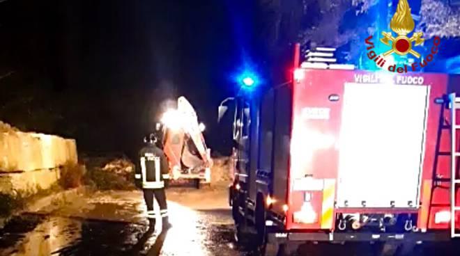 Vigili del fuoco a Viggianello