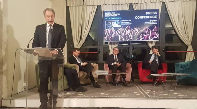 Vito Bardi alla cerimonia conclusiva di Matera 2019