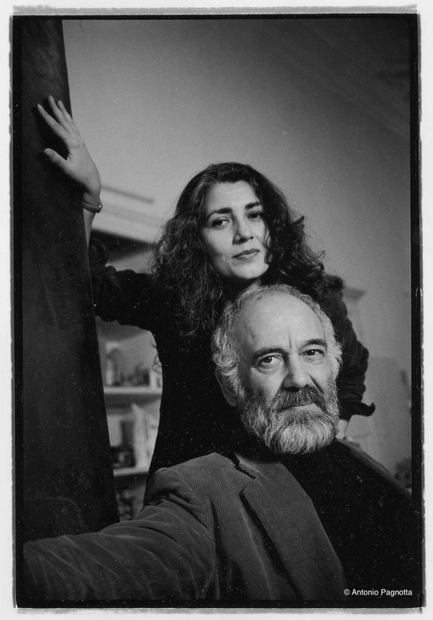 Antonio Infantino con Graziella Salvatore