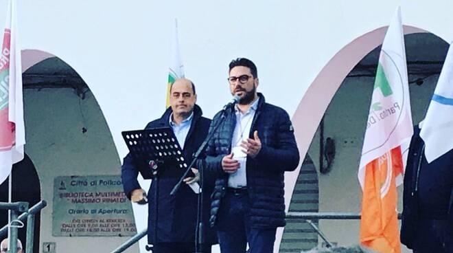 Zingaretti e Scarnato (Pd Matera)