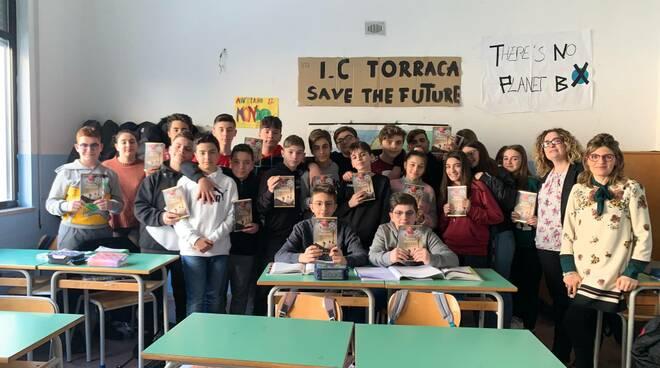 Alunni istituto Torraca, Matera