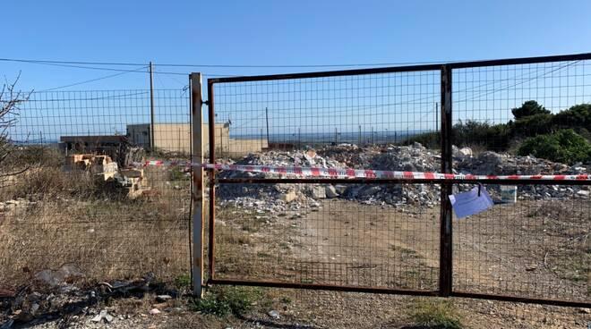 Discarica abusiva sequestrata a Montalbano Jonico