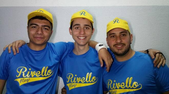 I tre atleti della Kings Rivello