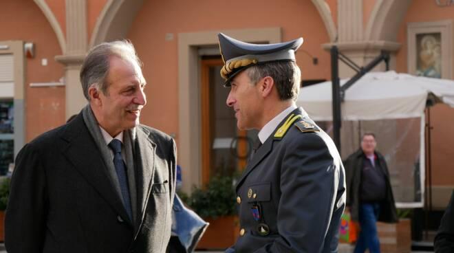 Presidente Bardi a conferimento cittadinanza Guardia di Finanza