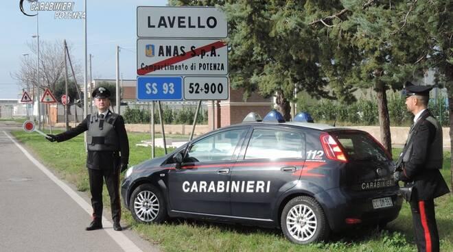 Controlli carabinieri Potenza