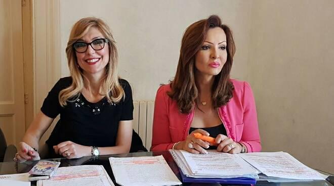 Ivana Pipponzi e Morena Rapolla