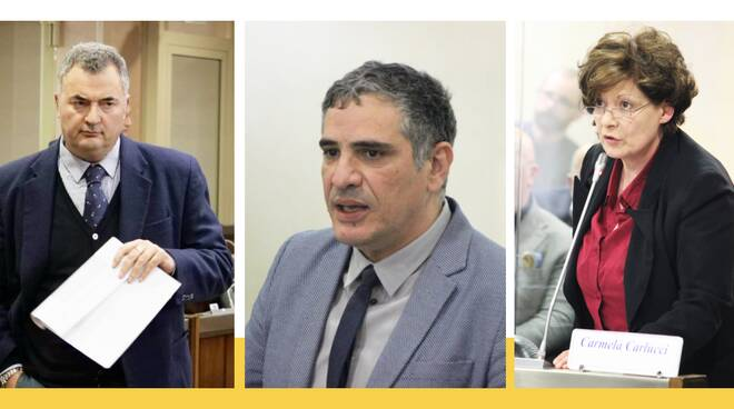 Leggieri, Perrino, Carlucci