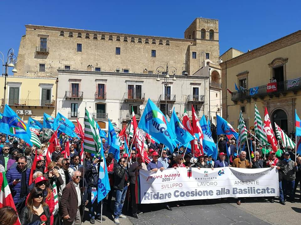 Manifestazione 1 maggio Ferrandina