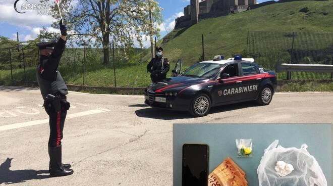 Carabinieri Melfi e droga sequestrata
