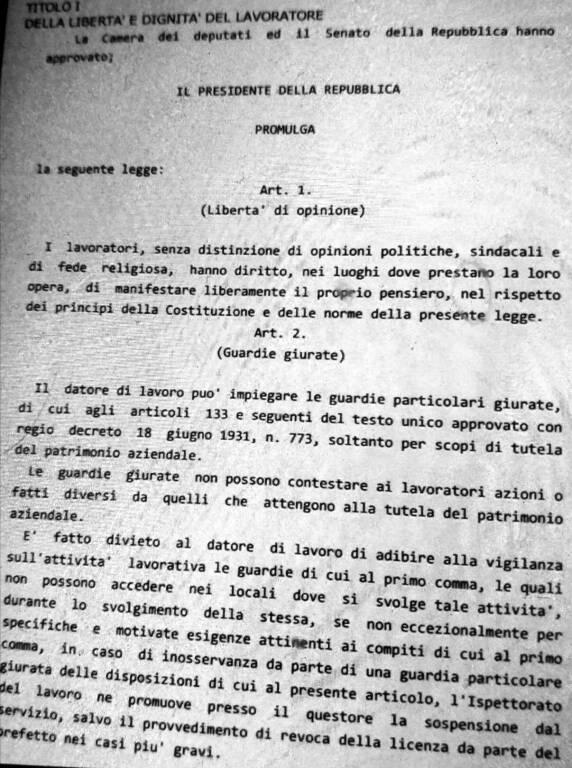 Lotte per lo Statuto dei Lavoratori in Basilicata