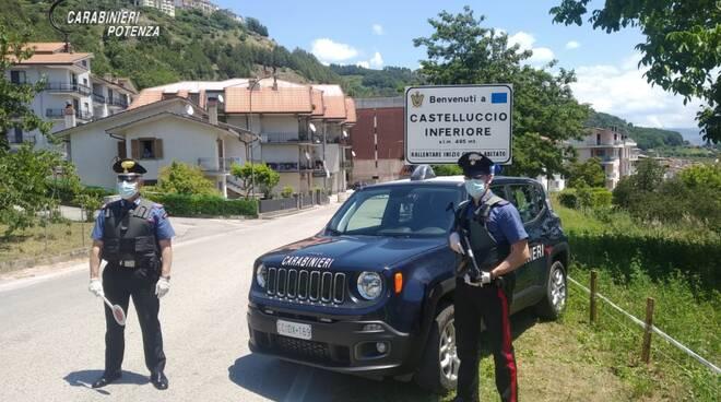 Carabinieri Castelluccio Inferiore