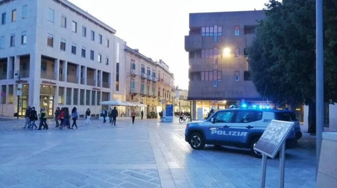 Matera, controlli polizia