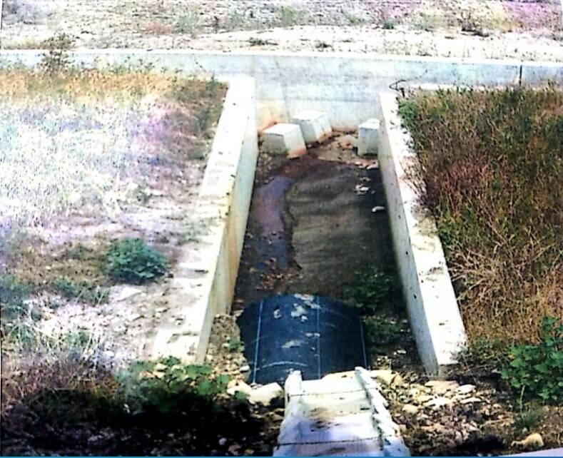 Scolo acque nere Corleto